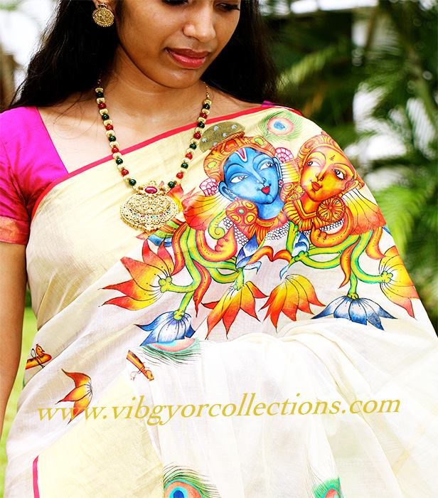 Kerala mural painting for sale for Asha mural painting