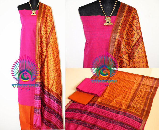 ETHNIC 'n' TRENDY - Unstiched Mix n Match Materials