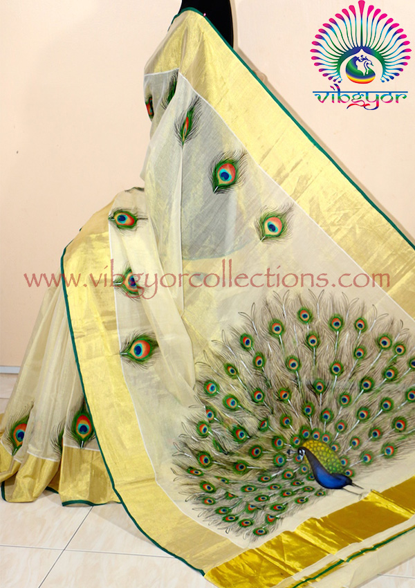 Mural handpainted sarees for Design a mural online