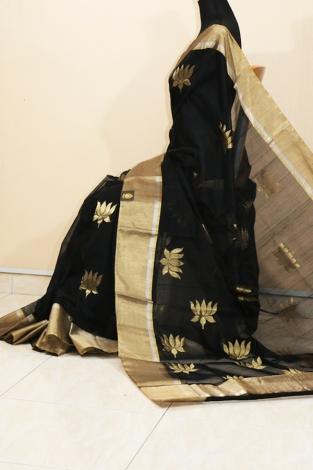 CHANDERI HANDWOVEN SAREE