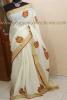 VENNAKANNAN-Hand painted kerala cotton saree