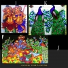 CUSTOMIZE YOUR MURAL HAND PAINTED SAREE