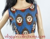 KALAMKARI DEVI BLOUSE- sleeveless